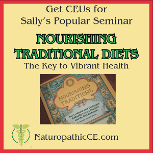 Get CEUs for Sally's popular seminar