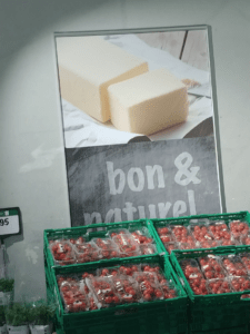 Real butter - no margarine in Switzerland!
