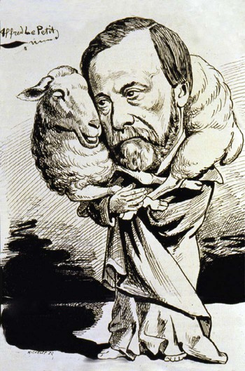Louis Pasteur and Sheep