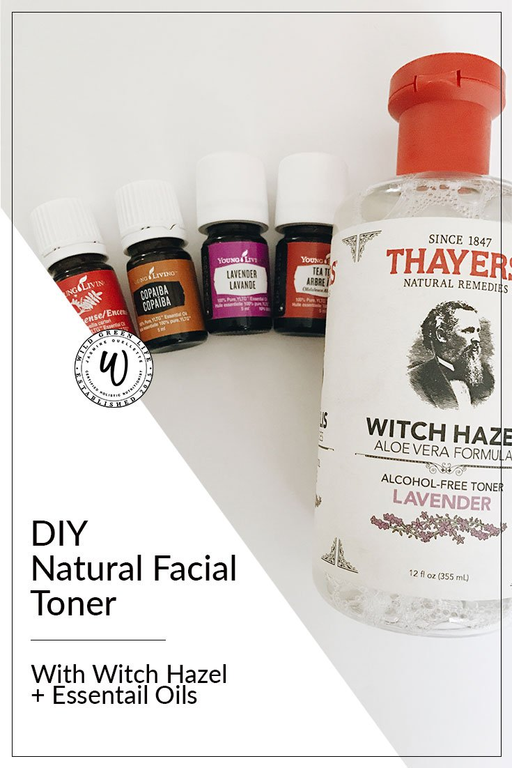 This simple DIY Natural Facial Toner is made with 5 ingredients that are 100% natural and nourishing for your skin!