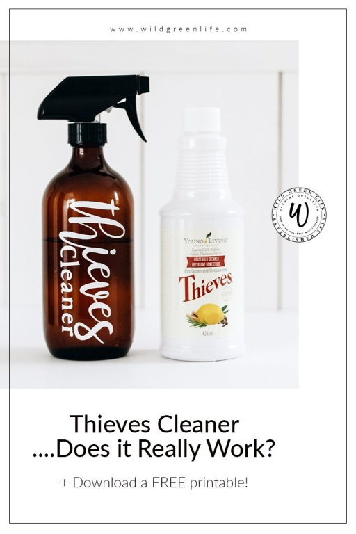 Young Living has created a line of Thieves cleaning products, including an all purpose cleaner, dish soap, laundry detergent, dishwasher detergent… the list goes on!  What I love about Thieves all purpose cleaner, is that it is made from 100% plant based and mineral ingredients, and it is so environmentally friendly. It is actually biodegradable! It contains thieves and lemon essential oils, which are both so great for natural cleaning.  Using thieves cleaner is so easy, effective, and safe!