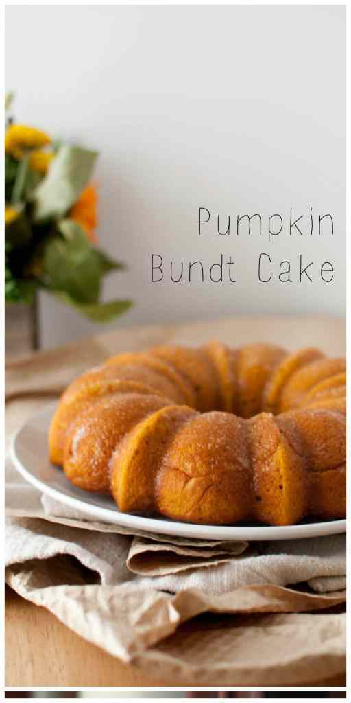 Pumpkin Bundt Cake   Nourish Nutrition Blog   www.nourishnutritionblog.com Delicious pumpkin cake