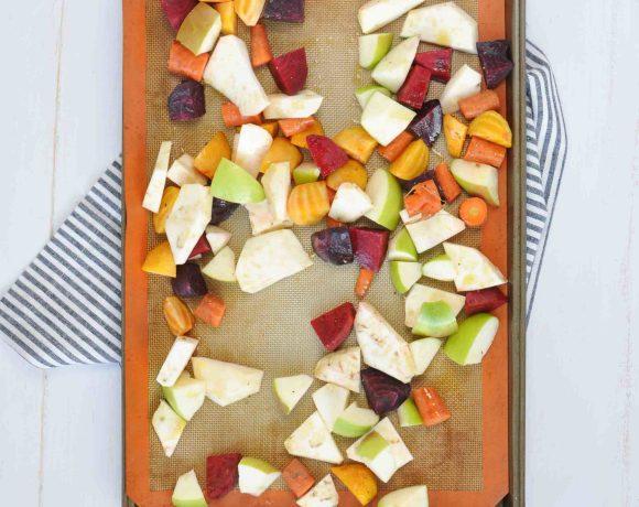 The Easiest Ever Sheet Pan Roasted Vegetables