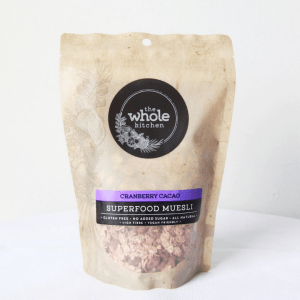 The Whole Kitchen Cranberry Cacao Superfood Muesli 350g