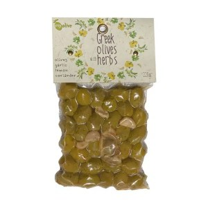 MyOlive – Olives, Garlic, lemon, coriander 220g