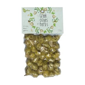 MyOlive – Olives, basil, garlic 220g