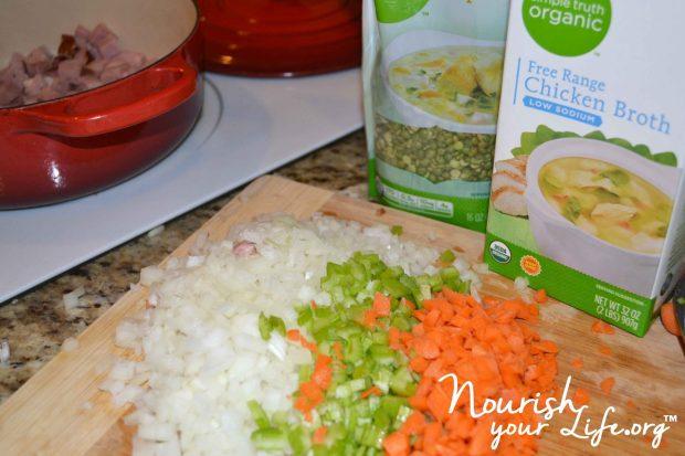 Split Pea Ingredients