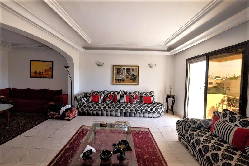 Appartement  résidentiel proche triangle d'or sans vis-à-vis de 165  m² à acheter