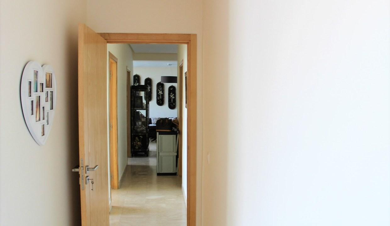 location appartement meublé de 3 chambres dans résidence grand standing.