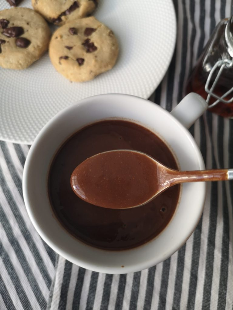 Chocolat chaud décadent