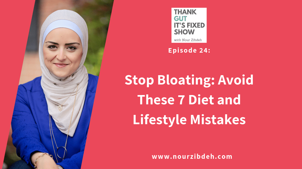 Stop Bloating: Avoid These 7 Diet and Lifestyle Mistakes