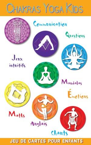 Couv Chakras Yoga Kids Vec