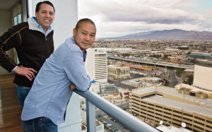 Fred Mossler and Tony Hsieh