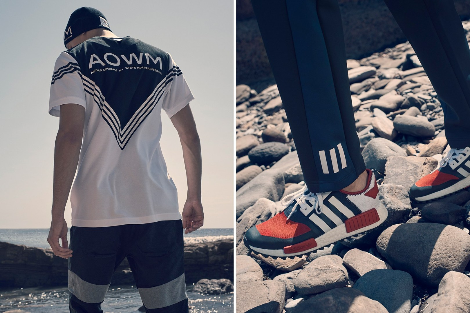 super popular f0380 bfaf4 adidas Originals x White Mountaineering Drop SS 17 Lookbook