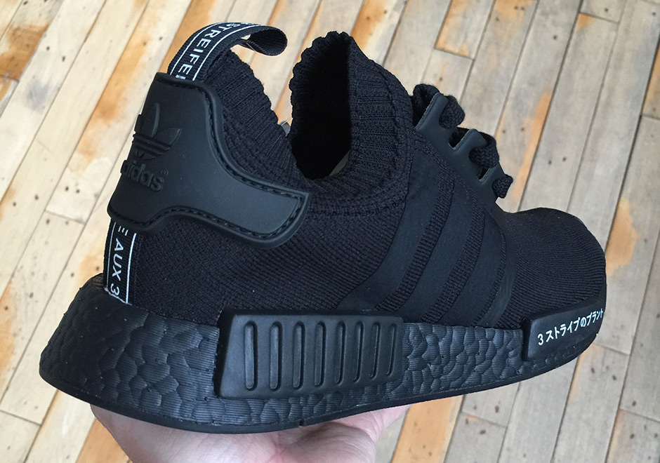 The Adidas Nmd R1 Japan Is Coming In Black And In White