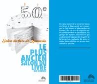 Livre du 50e anniversaire / Salon du livre de Rimouski