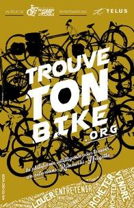 Affiche de projet / Association Rimouski Ville Cyclable