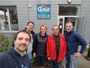 Limoges : la Ligue aménage à GAIA