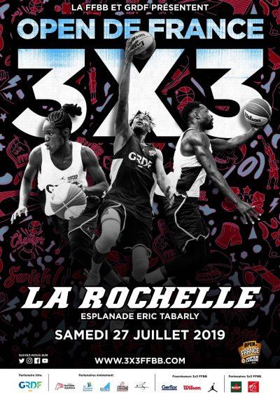 Open de France 3x3 - Ligue Nouvelle-Aquitaine de Basketball