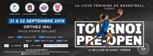 Le Pré-Open LFB est à Orthez ce week-end (21-22 sept.)
