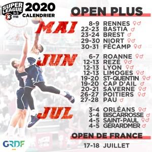 La Nouvelle-Aquitaine accueillera 5 Open Plus 3×3 en 2020