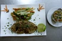 Dorade grillée au menu du restaurant - Photo DR