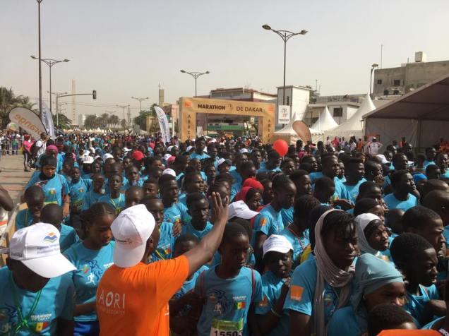 La Kid race. ©Marathon de Dakar