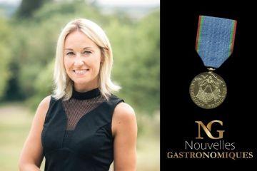 Portrait Sandrine Kauffer Binz - médaille du tourisme