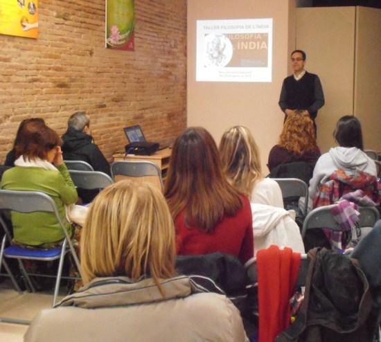 Sabadell taller filosofia India