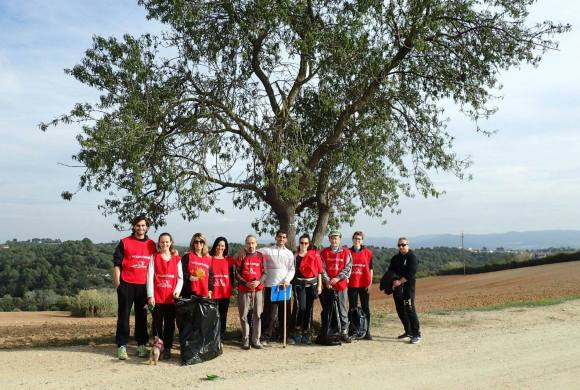 Voluntariado ecológico desde Nueva Acrópolis Sabadell