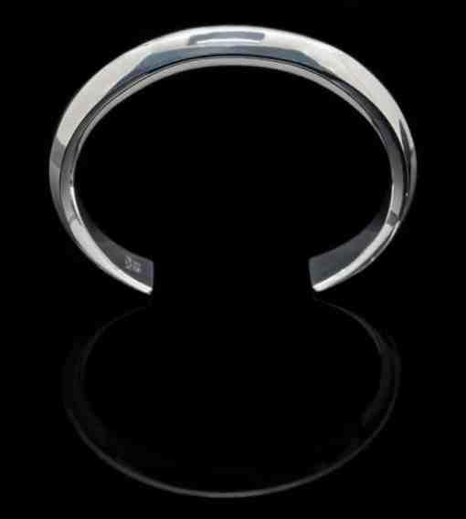 Sterling Silver 925 Solid Bangle Bracelet (BR59)