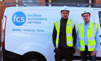 Chris Murray and John Lorrimer, Owner of FCS Services.