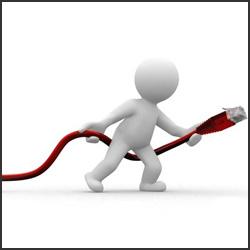 Technicien réseau domestique