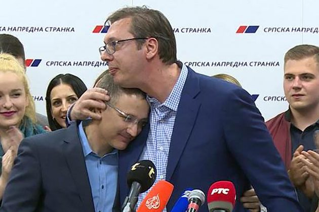 SUKOB SE RASPLAMSAO: Vučić i Stefanović u ratu za prevlast 1