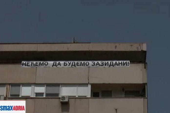 VUČIĆEVA POLICIJA LEGITIMIŠE STANARE BLOKA 37: Večeras najavili novi protest! 1