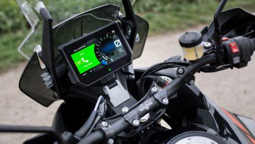 Ordenador abordo en motocicleta