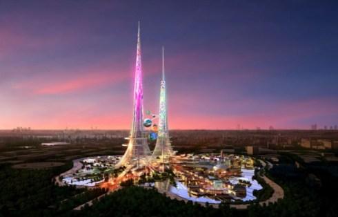 Torres ecológicas China