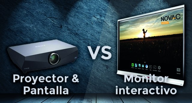 monitor vs proyector