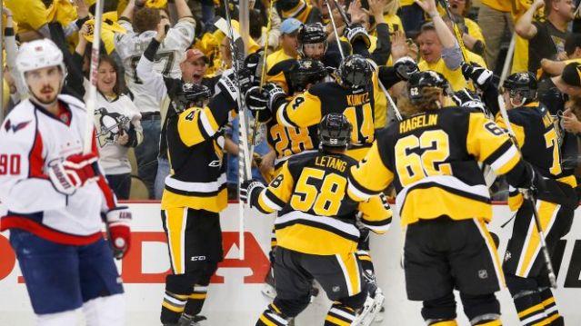 penguins win