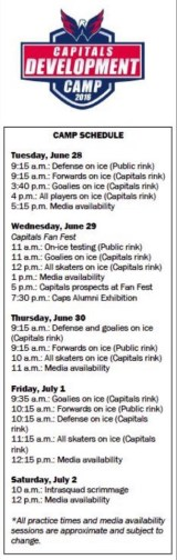 2016-development-camp-schedule
