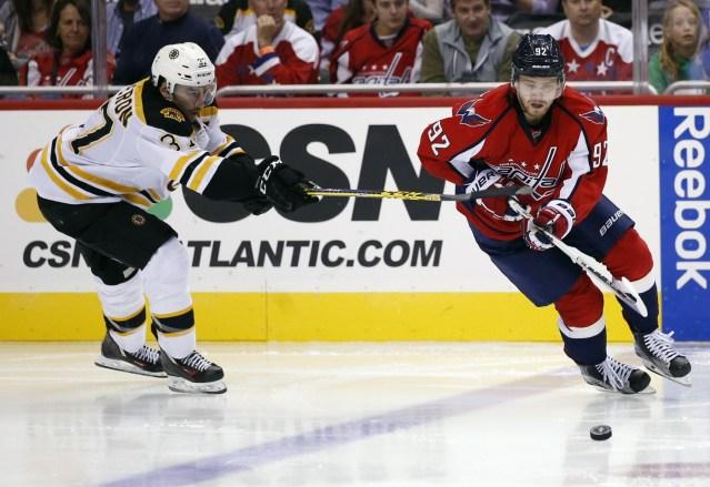 Evgeny Kuznetsov against Boston