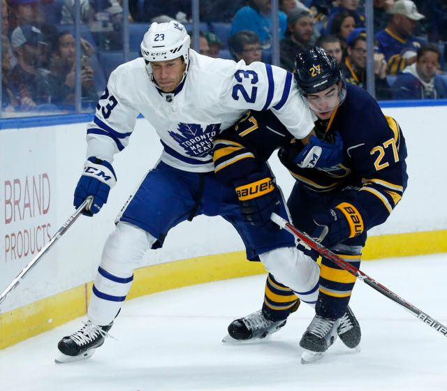 NHL: Preseason-Toronto Maple Leafs at Buffalo Sabres