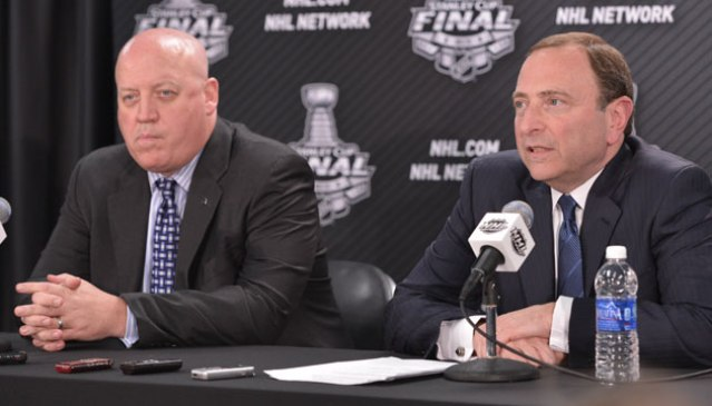 Bill Daly and Gary Bettman