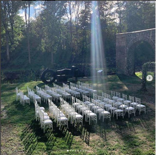 The Seating at Johansson Weddint
