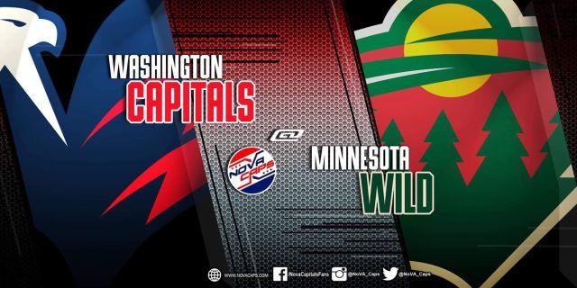 Capitals @ Wild graphic
