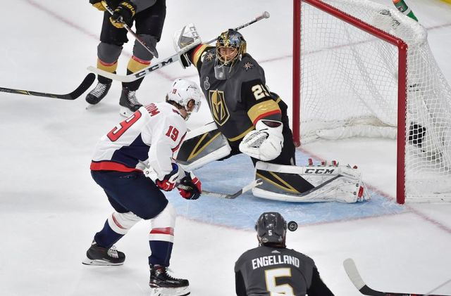 Washington Capitals v Vegas Golden Knights - Game One