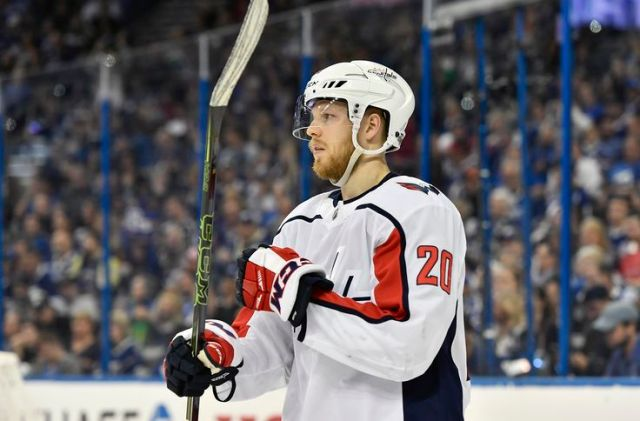 NHL: MAY 13 Stanley Cup Playoffs Eastern Conference Finals Game 2 - Capitals at Lightning