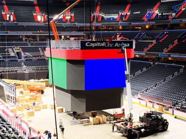 New Jumbotron Among Highlights In Capital One Arena S Second Phase Of Renovations Nova Caps