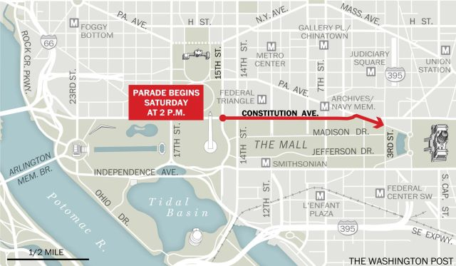 Nats Championship Parade Route
