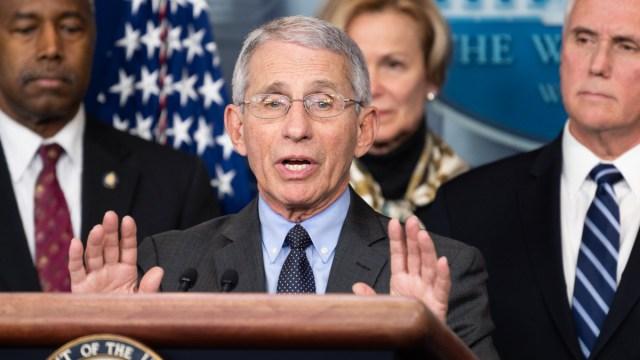 Coronavirus Task Force Press Conference in Washington, USA